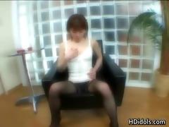 yuuna miyazawa in nylons having enjoyment