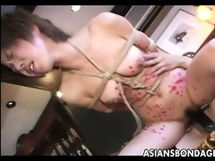wild lesbo sadomasochism act with sexy japanese