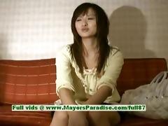 saori virginal wicked asian beauty is talking