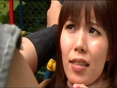 sexy oriental fighter beaten