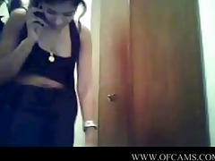 desi angel on livecam with phone cumonpussy