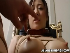 bizarre slavery and sex-toy fuck for an asian