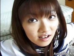 hot oriental schoolgirl engulfing pounder