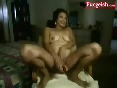 non-professional chinese cutie shows her