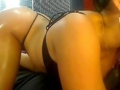 large titty oriental with a obese butt on web