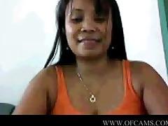 filipina on web camera at work sellyoursextape