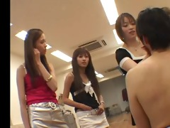 group of japaneses femdom