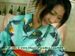 megumi haruka virginal pleasing japanese hotty in