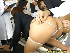 rica oriental doll is drilled hard grom