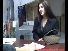 secretary seema screwed by her boss during