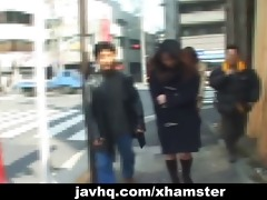 non-professional japanese teenies flash on the
