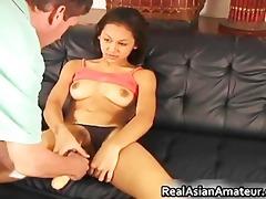 round boobs oriental angel marital-device