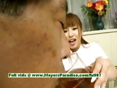 myuu hasegawa sinless cute oriental angel giving