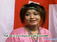 yuzuru japanese sinless chinese gal is talking