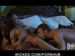 sexy oriental girlfriend kaylani lei is screwed