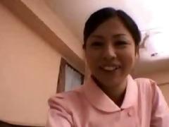 asian nurse goes wild