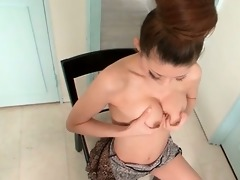 impure oriental in bikini is dildo addicted