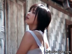 fantastic hawt real asian model posing part6