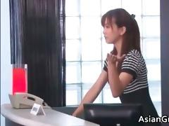 hawt and hot oriental secretary blows stiff part7