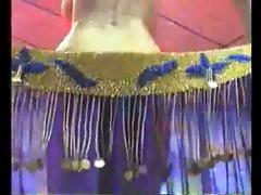 undressed stomach dancer