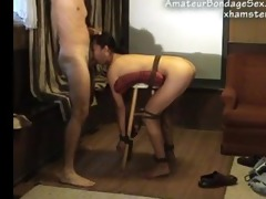 asian tied screwed