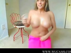 blond with large milk cans camshow sexmachine