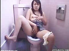 office ladies restroom masturbation