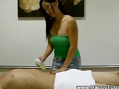 asian bitch gets three-some supplementary for