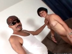 sexually excited arabian beauty receives to