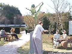 free jav of eager japanese bronze statue part8