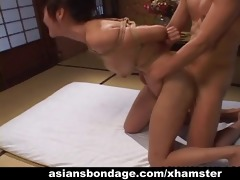 tempting oriental honey in bondage receives