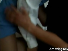 asian cutie gets slit licked and drilled