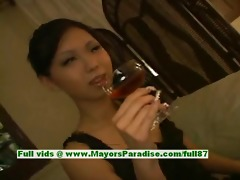 mimi sinless cute japanese beauty giving a oral