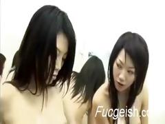 lustful oriental angels having lez pleasure