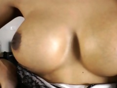 tanned thai tgirl nat toy screwed her wazoo and