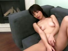 oriental gal t live without deep banging on couch
