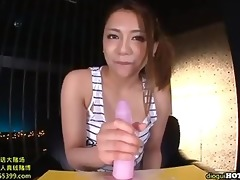 japanese gals sex with sexy older woman at