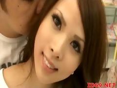 japanese av model forced to engulf