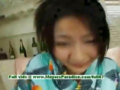 megumi haruka blameless pleasant japanese cutie