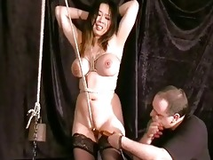 merciless oriental pussy bondage and compulsory