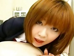rio hamasaki, lovely japanese model teasing a