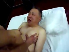 chinese old and youthful fuck