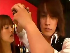 japanese doxy seduces a bartender