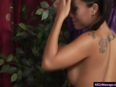 shy girl gets her st massage ever!