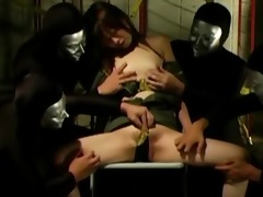 groping and torture for oriental hotty