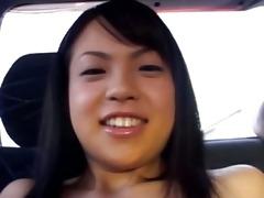 amateur mongolian hooker in the car