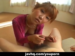 cute japanese legal age teenager gives a nervous