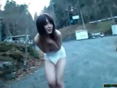 oriental hawt beauty love fucking outdoor vid-115