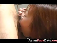 fingering and fucking slender oriental