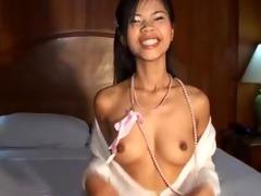 super miniature thai long tounge blow job